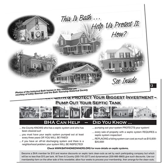 bath homeowners newsletter